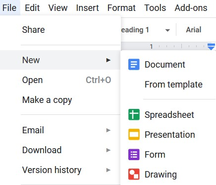 How to make a graph on Google Docs