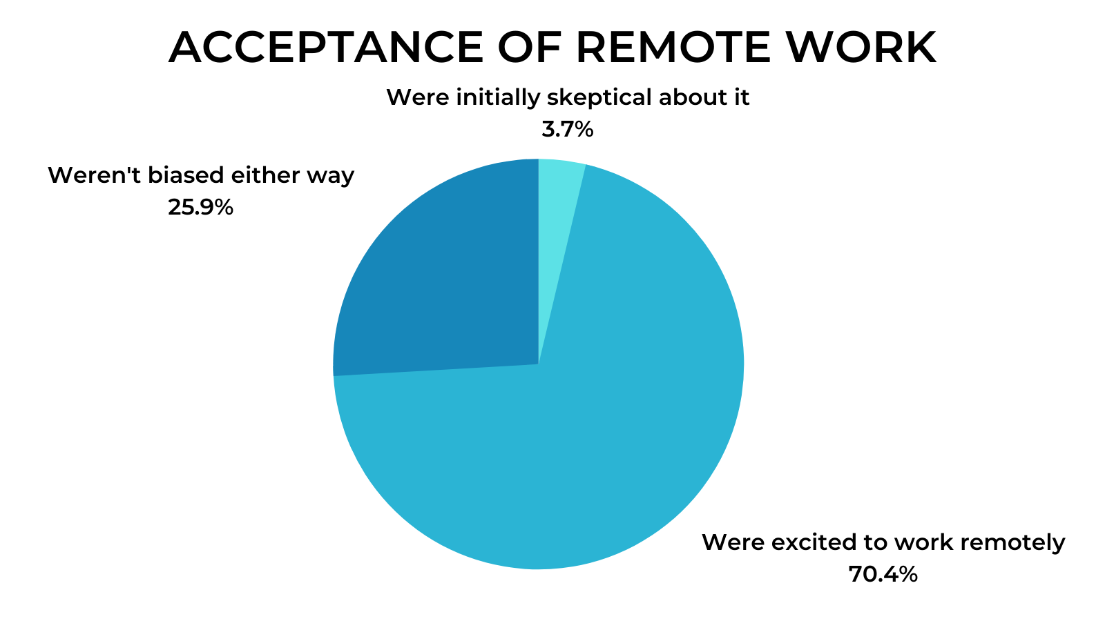 Remote Work Interviews - Excited about remote working