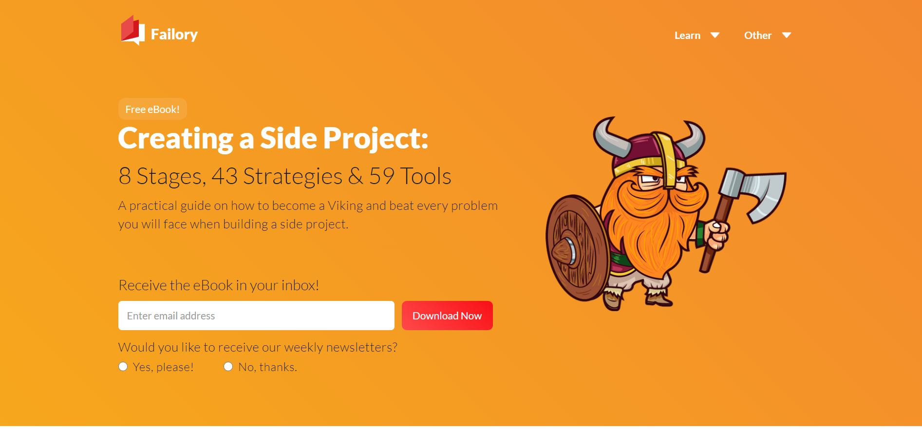 side project tools - failorysideprojects