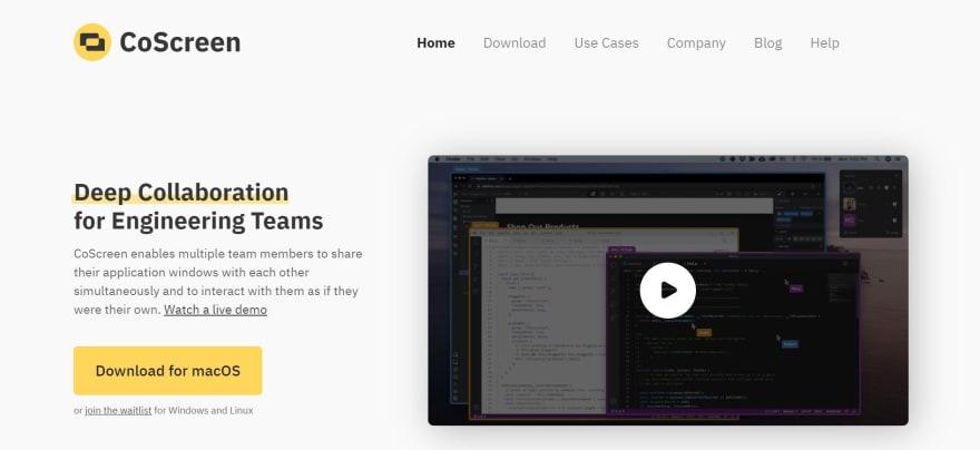 free developer tools - coscreen