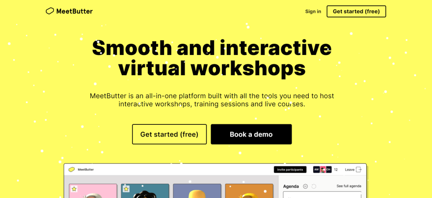 free remote working tools - meetbutter