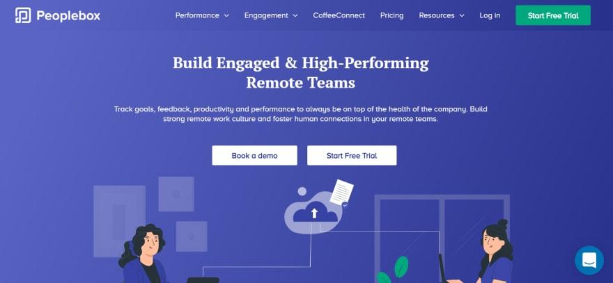 free remote working tools - peoplebox